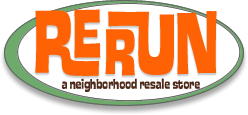 Rerun is Portland's Neighborhood Resale & Consignment Furniture and Clothing Store